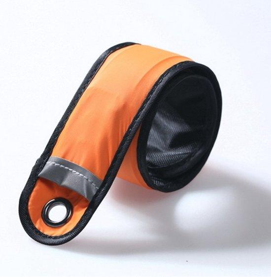 Hardloop Armband LED 25cm - Oranje