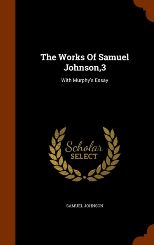 The Works of Samuel Johnson,3