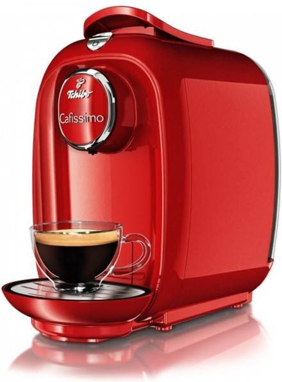Tchibo cafissimo picco koffiemachine red fire for Koffiemachine de