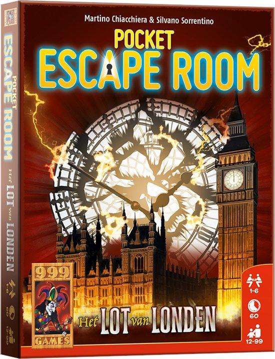 Afbeelding van het spel Pocket Escape Room: Het lot van Londen Kaartspel
