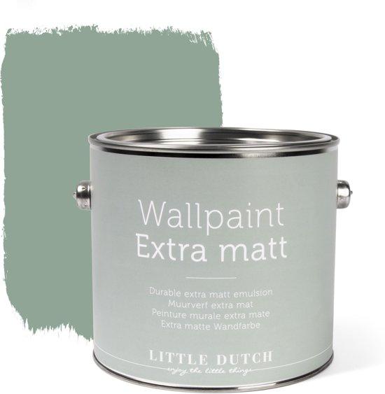 Little Dutch - Muurverf Mat - Vintage Mint - Groen - 2,5 liter