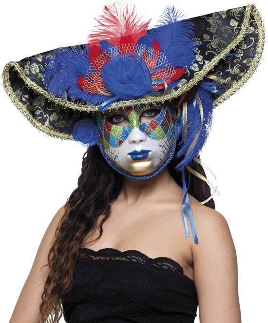 Masker Venice jester deluxe