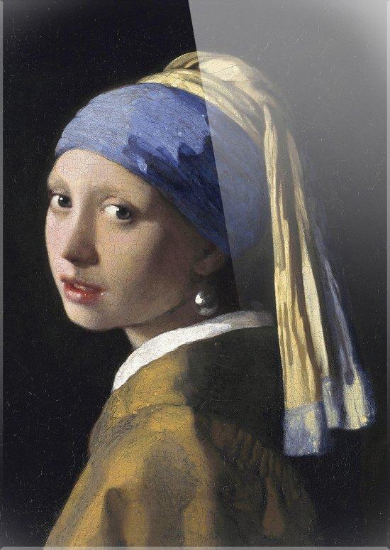 MEISJE MET DE PAREL | Johannes Vermeer | Plexiglas | Wanddecoratie | 100CM X 150CM | Schilderij