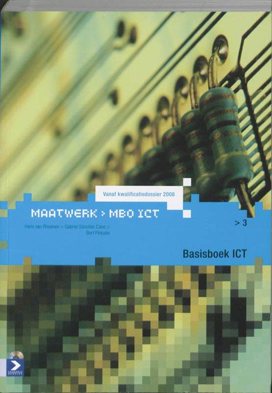 MBO-ICT reeks - Basisboek ICT Niveau 3