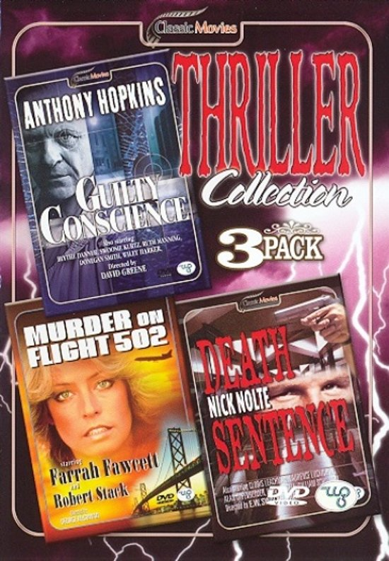 DVD cover van Thriller Collection