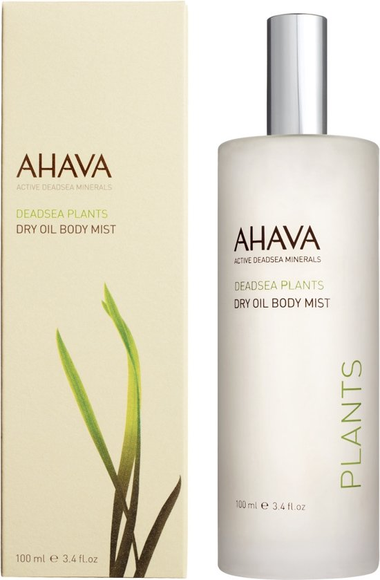 AHAVA Dead Sea Plants Dry Oil Body Mist Mandarin & Cedarwood Bodymist 100 ml