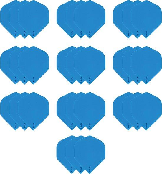 10 sets (30 stuks) Dragon darts R4x blauw dart flights extra stevige - darts flights