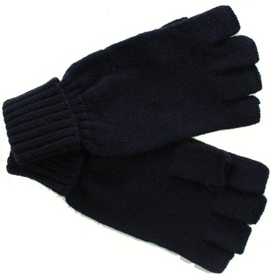 bol | bjornson mof - gebreide handschoenen zonder toppen - zwart