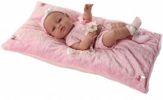 Berbesa pasgeboren baby pop roze