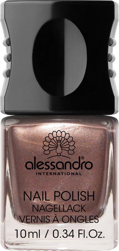 Alessandro Nail Polish - 71 Brown Metallic - 10 ml