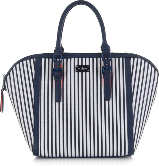 Paul's Boutique Betsy Alston - Handtas - Navy Stripe