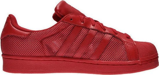 bol.com | Adidas Sneakers Originals Superstar Heren Rood Maat 44