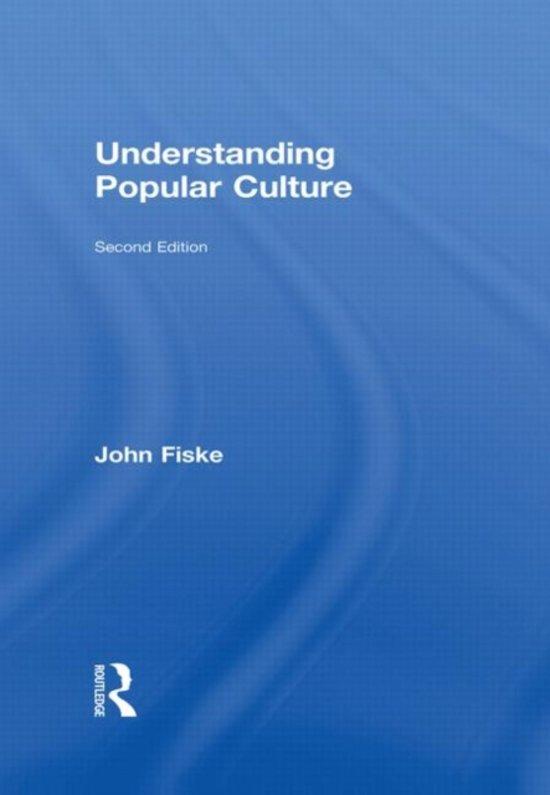 understanding popular culture john fiske