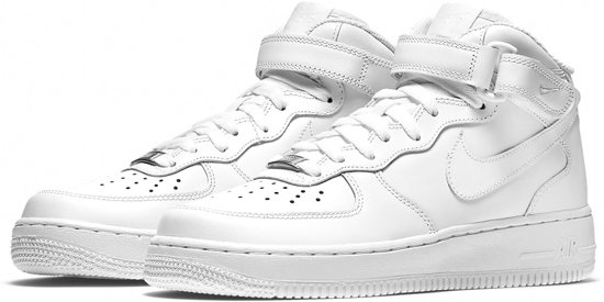timeless design 78029 9a962 Nike Air Force 1 07 Mid Sneakers - Maat 38.5 - Vrouwen - wit