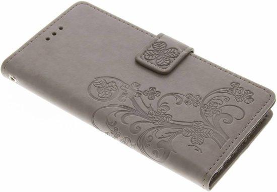 Fleurs De Trèfle Gris Case Pour Booktype Lite Huawei P9 sb0EGw3