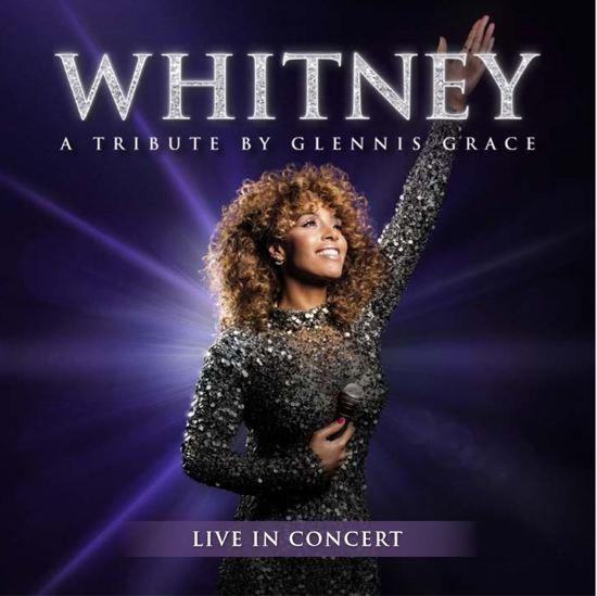CD cover van Whitney - A Tribute By Glennis Grace (Cd+Dvd) (Exclusief bij bol.com) van Glennis Grace