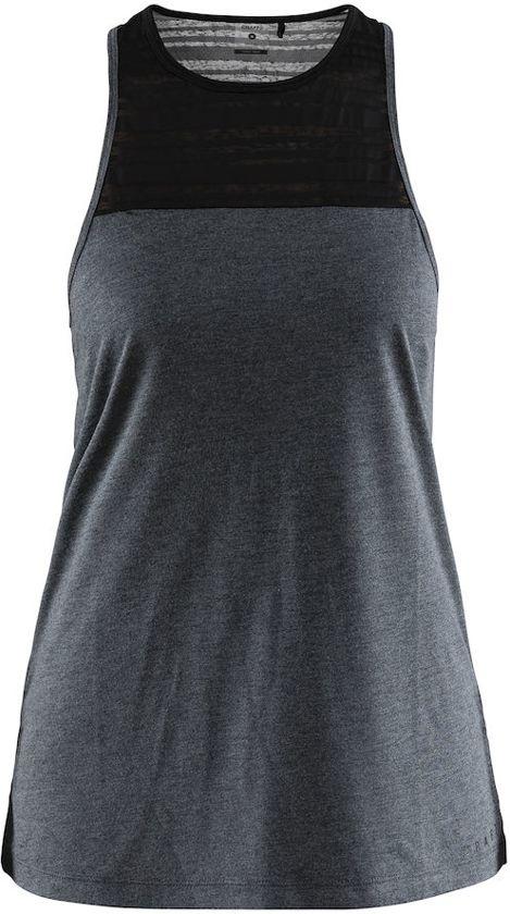 Craft W DamesBlack Charge Melange Sportshirt Singlet Ym6Ibf7ygv