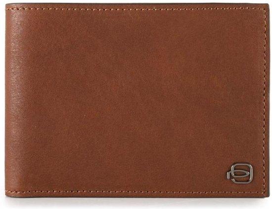 Piquadro Blue Square Men's Wallet 7 Creditcards cognac