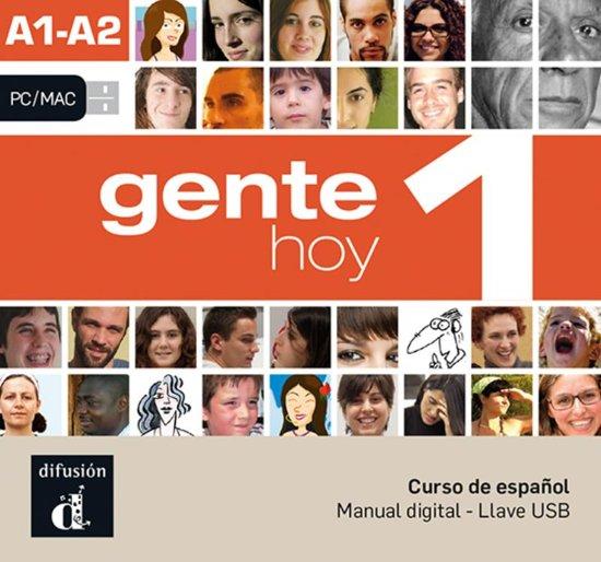 Gente hoy 1 A1-A2 -Llave USB con libro digital