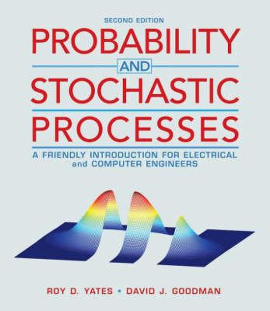 Boek cover Probability And Stochastic Processes van Roy Yates (Hardcover)