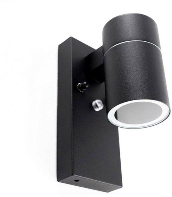 Buitenlamp Met Sensor Zwart.Zwarte Buitenlamp Schemersensor Gerjo Roestvrij Staal Rvs