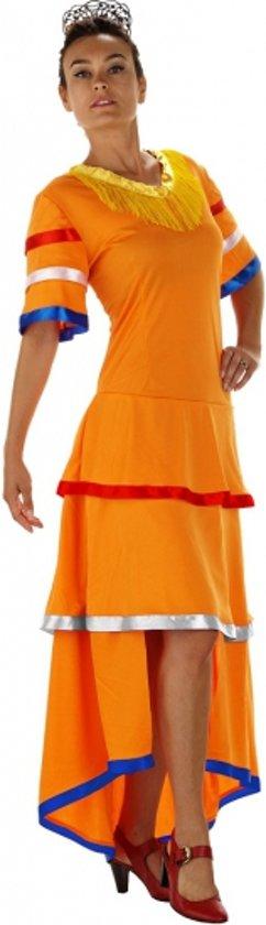 Oranje Samba jurk S/m