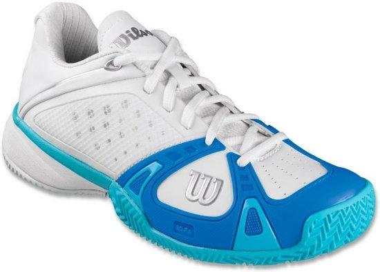 Chaussures De Tennis Wilson Femmes Rush Sport Blanc / Violet Taille 41 1/3 0V0yV