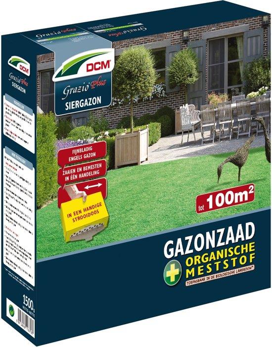 Graszaad Engels gazon + meststof 100 m²