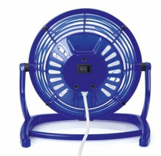 Bellatio - USB Ventilator - Blauw