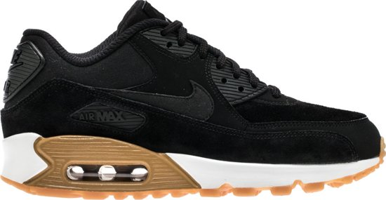 ladies zwart nike air max 90