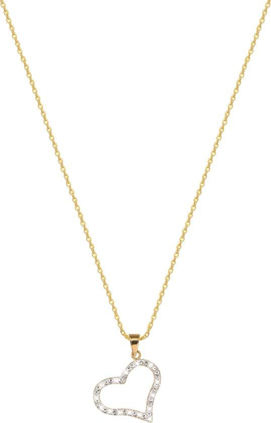 gouden ketting met hanger dames