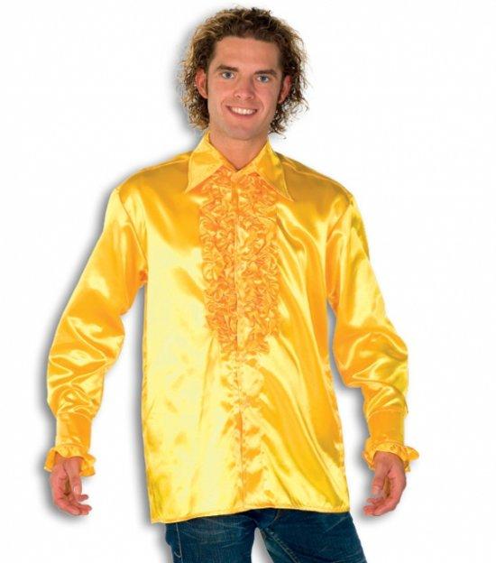 Geel Overhemd Heren.Bol Com Rouche Overhemd Voor Heren Geel 54 Xl Merkloos Speelgoed