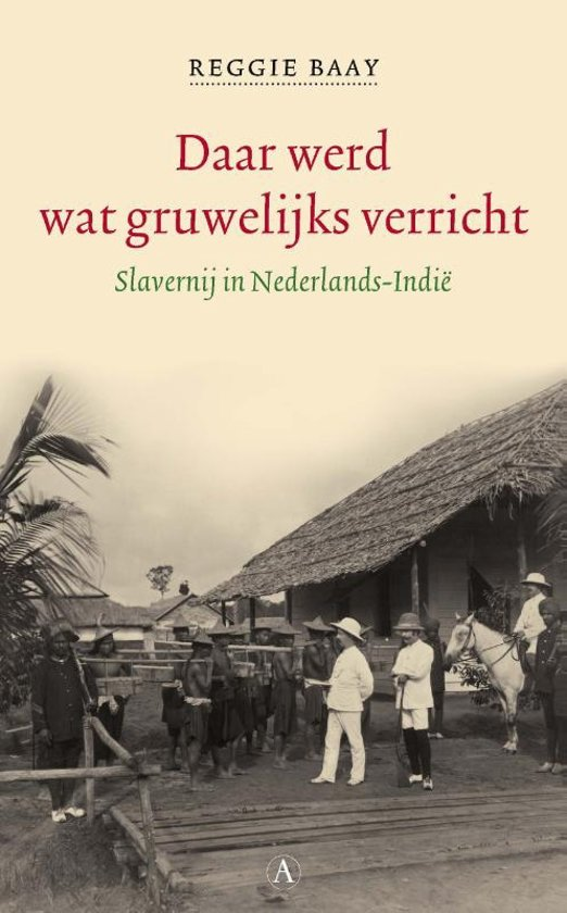 New book on Dutch slavery, cover