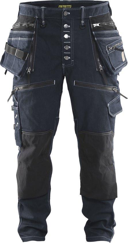 Blaklader Blåkläder 1999 Baggy Denim Stretch X1900 Marineblauw/Zwart C48