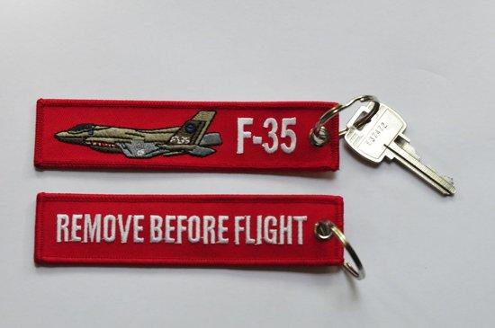 Sleutelhanger Remove Before Flight & F-35 Lightning II