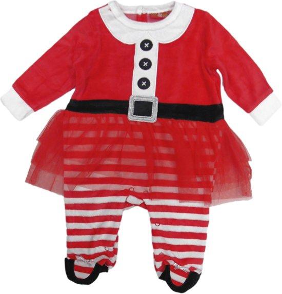 Babykleding Voor Kerst.Bol Com Kerstpakje Baby Boxpakje Met Tutu Kerst Maat 56