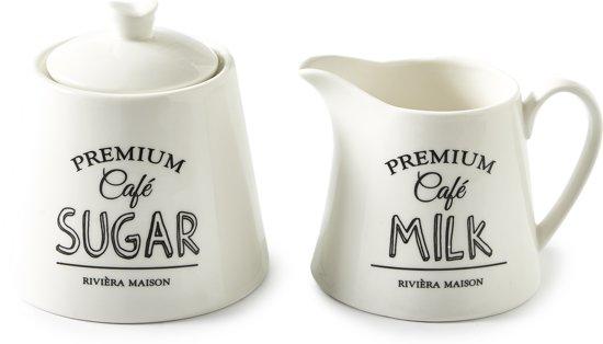 Premium Café Sugar Milk Set