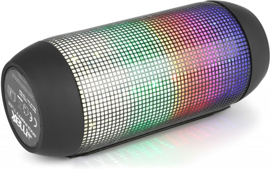 MAX MX3 Bluetooth speaker met led lichteffect