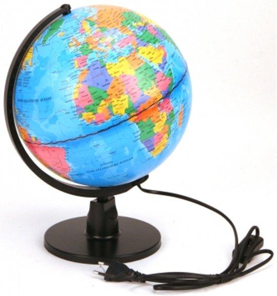 Afbeelding van Globe Met Licht Nederlands LED 25 Cm speelgoed