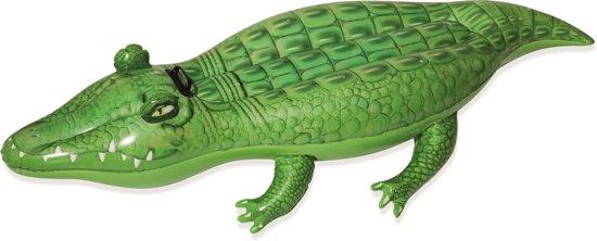 Bestway Opblaasbare Krokodil 168 x 89 cm - Opblaasfiguur