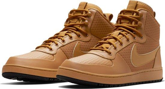 ea53386dcfa bol.com | Nike Ebernon Mid Winter Sneakers Heren - Wheat/Wheat-Black ...