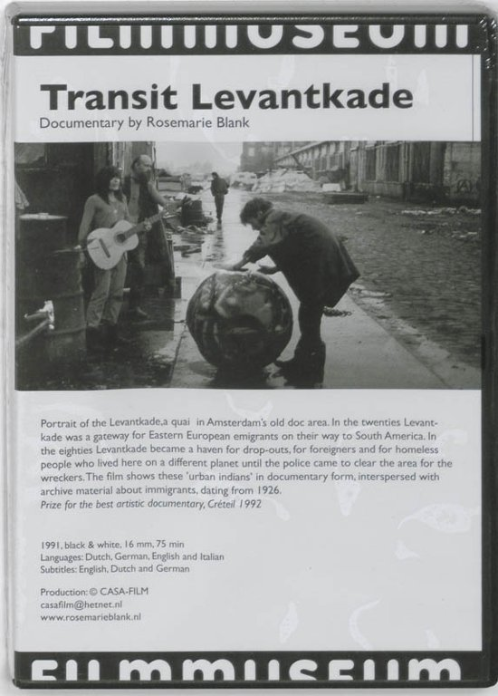 Cover van de film 'Transit Levantkade / The Ants'