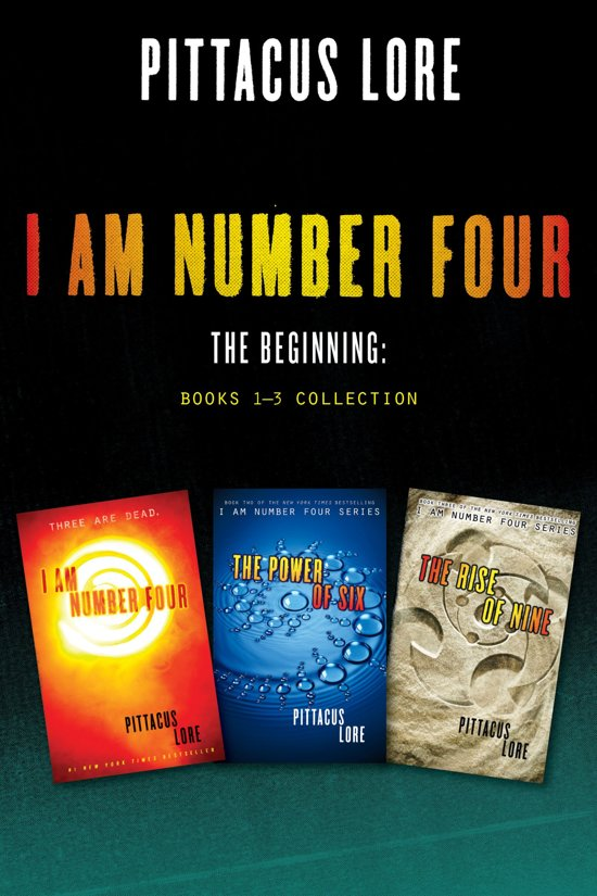 Bol Com I Am Number Four The Beginning Books 1 3 Collection