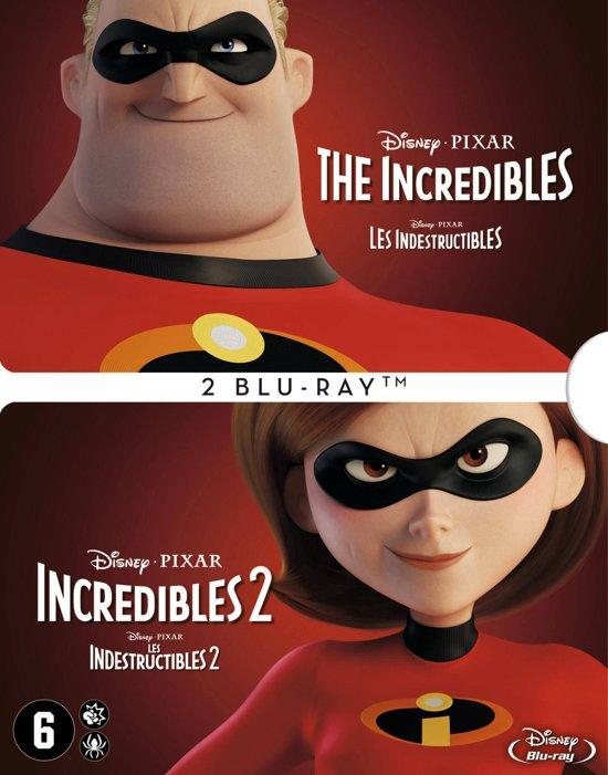 DVD cover van The Incredibles 1+2 (Blu-ray)