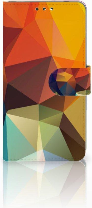 Nokia 8 Boekhoesje Design Polygon Color
