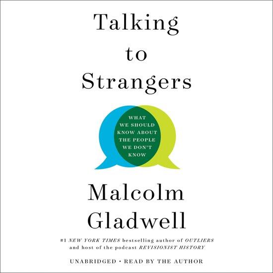 Boek cover Talking to Strangers van Malcolm Gladwell (Onbekend)