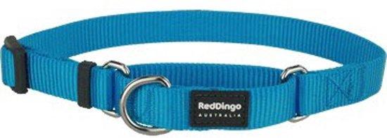 Red Dingo Martingale Correctie Halsband Hond 12mm 21-33cm MC-ZZ-TQ-12
