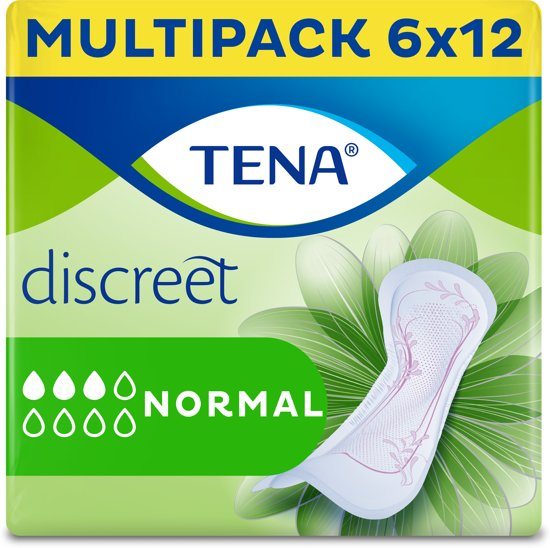 TENA Lady Discreet Normal Incontinentieverband - 72 stuks
