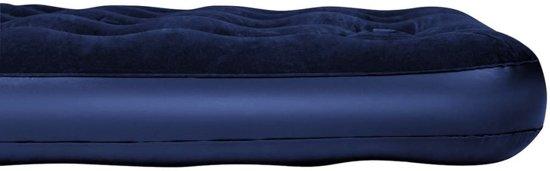 Bestway opblaasbaar luchtbed met ingebouwde voetpomp 203 x 152 x 28 cm