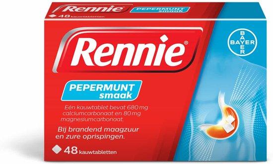Rennie - 48 Tabletten - Maagzuurremmers